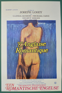 Romantic Englishwoman (The) <p><i> (Original Belgian Movie Poster) </i></p>