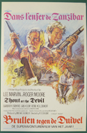 Shout At The Devil <p><i> (Original Belgian Movie Poster) </i></p>