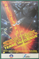 Star Trek IV - The Undiscovered Country <p><i> (Original Belgian Movie Poster) </i></p>