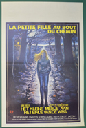 Little Girl Who Lives Down The Lane (The) <p><i> (Original Belgian Movie Poster) </i></p>
